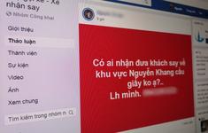 """Nở rộ hội nhóm Facebook giúp dân nhậu """"gọi xế"""" đưa về tận nhà"""