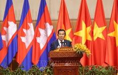 Thủ tướng Campuchia Hun Sen dự lễ đón Xuân Canh Tý với cộng đồng người Việt