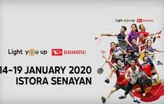 TRỰC TIẾP Các trận chung kết giải cầu lông Indonesia Masters 2020 (13h30, VTV6)
