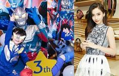 Angelababy đón sinh nhật với con trai mà không có Huỳnh Hiểu Minh