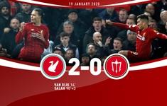 Liverpool 2-0 Man Utd: Không thể cản bước