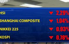 Nhiều thị trường châu Á giảm điểm phiên sáng
