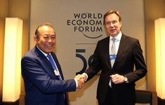 Thỏa thuận hợp tác giữa Việt Nam và Diễn đàn Kinh tế Thế giới mang lại nhiều kết quả thiết thực