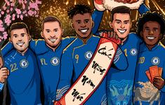 Sau Tottenham, Chelsea gửi lời chúc Tết Canh Tý 2020 tới fan Việt