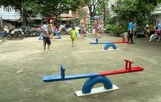 Biến rác, phế liệu thành sân chơi tái chế cho trẻ em