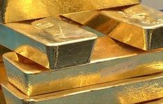 Giá vàng thế giới tăng lên gần mức cao nhất 3 tuần