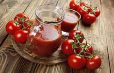 10 tác dụng sinh tố cà chua với sức khỏe và làm đẹp