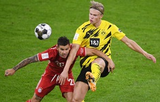 TRỰC TIẾP Siêu cúp Đức, Bayern Munich 2-2 Borussia Dortmund: Erling Haaland tỏa sáng
