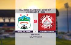 VIDEO Highlights: Hoàng Anh Gia Lai 5–2 CLB TP Hồ Chí Minh (Vòng 13 V.League 2020)