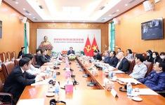 Quan hệ đối tác chiến lược Việt Nam - Anh đang phát triển tích cực, thực chất và toàn diện