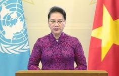 Chủ tịch Quốc hội Nguyễn Thị Kim Ngân gửi thông điệp đến ''Phiên cấp cao kỷ niệm 25 năm Hội nghị thế giới về Phụ nữ lần thứ IV''