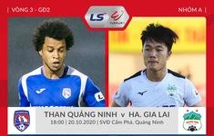 TRỰC TIẾP BÓNG ĐÁ, Than Quảng Ninh 0-0 HAGL (H1): Nhập cuộc đầy hứng khởi