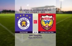 VIDEO Highlights: CLB Hà Nội 1-0 Hồng Lĩnh Hà Tĩnh (Vòng 3 giai đoạn 2 V.League 2020, nhóm A)