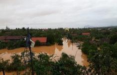Lũ trên các sông ở Hà Tĩnh, Quảng Bình xuống chậm