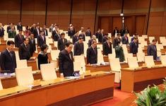 Quốc hội dành 1 phút mặc niệm các quân nhân, đồng bào gặp nạn trong mưa lũ
