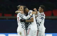 Kết quả PSG 1-2 Man Utd: Bruno và Rashford cùng lập công