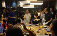Đoàn phim Tiệc trăng máu trên Chuyển động 24h: Những chuyện bên lề