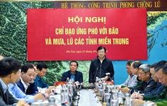 Phó Thủ tướng Trịnh Đình Dũng: Nhiệm vụ số một là tập trung cứu trợ người dân