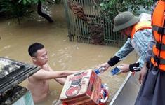 Tỉnh Quảng Bình gửi khuyến cáo tới các tổ chức, cá nhân từ thiện vào vùng lũ