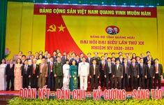 Nhiều tỉnh, thành phố bế mạc Đại hội Đảng bộ