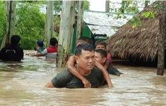 Gần nửa triệu người Campuchia bị ảnh hưởng do lũ lụt