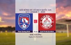 VIDEO Highlights: Than Quảng Ninh 2-1 CLB TP Hồ Chí Minh (Vòng 4 giai đoạn 2 V.League 2020, nhóm A)