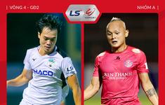 TRỰC TIẾP Bóng đá Hoàng Anh Gia Lai 0-1 CLB Sài Gòn: Hiệp 2
