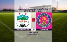 VIDEO Highlights: Hoàng Anh Gia Lai 2-4 CLB Sài Gòn (Vòng 4 giai đoạn 2 V.League 2020, nhóm A)