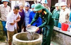 Xuất cấp 6,7 triệu viên sát khuẩn nước phục vụ phòng, chống dịch bệnh sau bão lũ