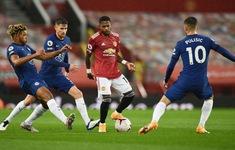 Manchester United chia điểm nhạt nhòa với Chelsea trên sân nhà
