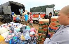 Phân bổ hàng hóa, thiết bị hỗ trợ khắc phục hậu quả lũ lụt