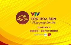 TRỰC TIẾP Chặng 3 Giải xe đạp VTV Cúp Tôn Hoa Sen 2020: Hà Nam – Thanh Hoá (120 Km)