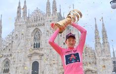 Tao Geoghegan Hart giành chiến thắng chung cuộc tại Giro d'italia 2020
