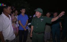 Quảng Ngãi hoàn tất công tác vận động người dân di dời trong đêm