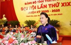 Chủ tịch Quốc hội Nguyễn Thị Kim Ngân dự Đại hội Đảng bộ tỉnh Thanh Hóa