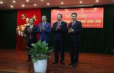 Ông Phạm Xuân Thăng được bầu giữ chức Bí thư Tỉnh ủy Hải Dương