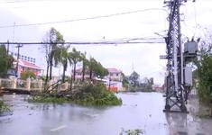 Quảng Ngãi: Gió đã giảm dần, mưa vẫn còn nặng hạt