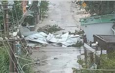 Quảng Ngãi: Nhiều cơ sở y tế bị thiệt hại do bão