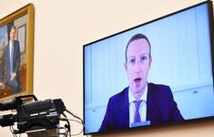 """270 tỷ USD bị """"thổi bay"""" sau phiên điều trần của Facebook, Twitter và Alphabet"""