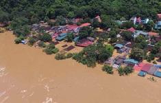 Lũ trên các sông ở Quảng Bình, Quảng Trị, Quảng Nam đang lên