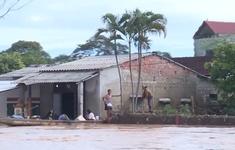 Quảng Trị ngập lụt trở lại, có nơi nước cao hơn 1 mét