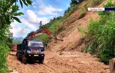 Vụ sạt lở ở Phước Sơn, Quảng Nam: Nỗ lực thông tuyến tiếp cận hiện trường