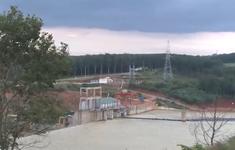 Thủy điện Plei Kần tích nước trái phép giữa bão số 9