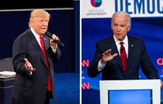 """TRỰC TIẾP Tranh luận bầu cử Tổng thống Mỹ: Màn """"so găng"""" cuối cùng của Trump - Biden"""