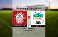 VIDEO Highlights: CLB TP Hồ Chí Minh 2-1 Hoàng Anh Gia Lai  (Vòng 5 giai đoạn 2 LS V.League 1-2020, nhóm A)