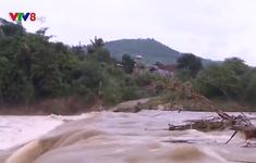 Kon Tum: Mực nước lũ trên các sông tiếp tục lên nhanh