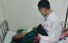 Cứu nam thanh niên bị dập nát cánh tay trái do cưa máy cắt