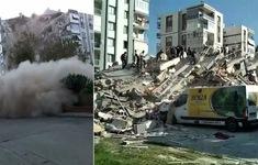 Động đất rung chuyển Thổ Nhĩ Kỳ và Hy Lạp, đã có 20 người thiệt mạng