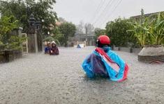Cảnh báo mưa lớn ở miền Trung, siêu bão Goni gần Biển Đông