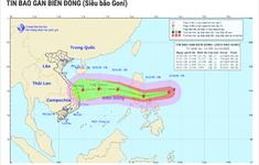 """Siêu bão Goni sắp vào Biển Đông, có thể """"càn quét"""" khu vực từ Thanh Hóa - Khánh Hòa"""